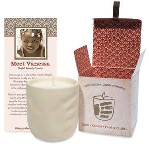 About Light a Candle • Feed a Child™ - Bridgewater Candle Company www.bridgewatercandles.com