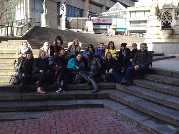Semester 2 trip to Birmingham to visit museums and galleries