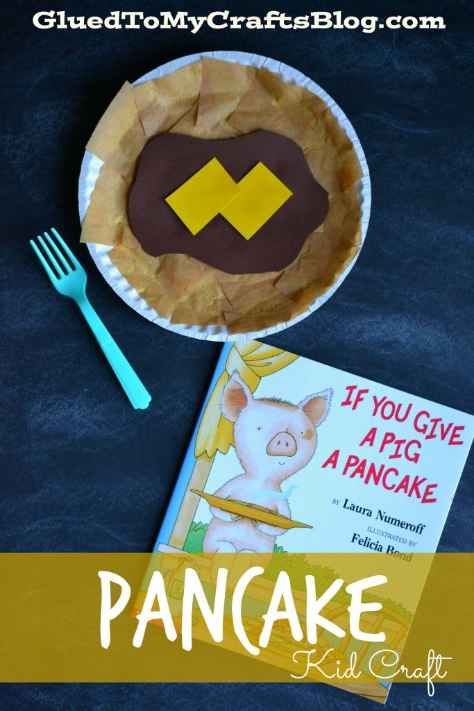 Paper Plate Pancake {Kid Craft}