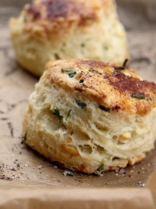 FETA AND CHIVE SOUR CREAM SCONES [joythebaker] | flour.water | quick ...