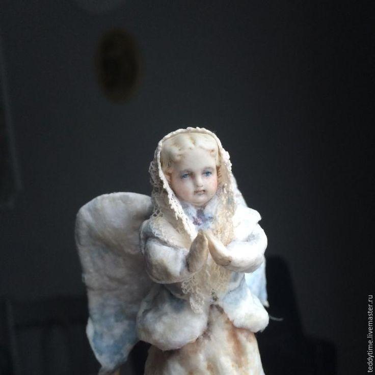 Создаём ватную игрушку «Рождественский ангел». Часть 2 - Ярмарка Мастеров - ручная работа, handmade