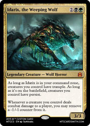 Idarix, the Weeping Wolf by Beeswax