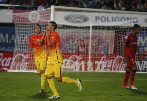 Tello, FC Barcelona, | Mallorca  2-4 Barça. 11.11.12