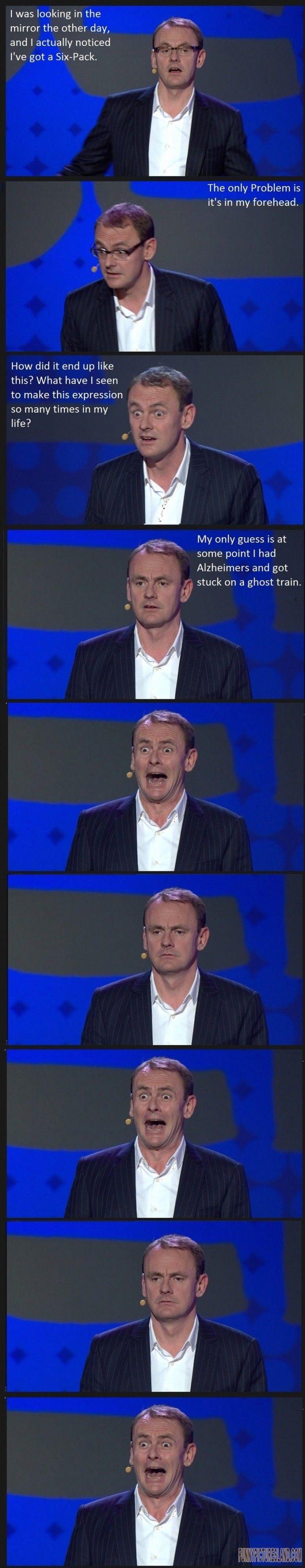 Funny picture: Sean Lock