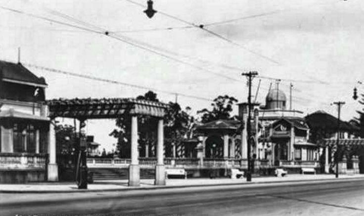 Avenida Paulista Belvedere do Trianon 1952