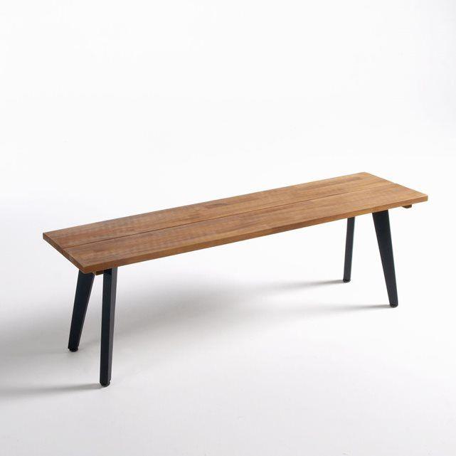 Delightful Table Et Banc Bois #8: Le Banc De Jardin, Acacia FSC®* Hiba. Pour Réaliser Une Ambiance De