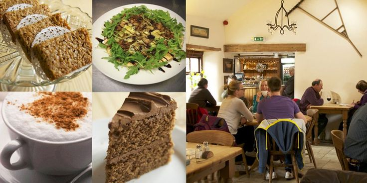 M6 near Bolton-le-Sands (2 minutes from A6, 10 minutes from M6 at A601M junction) Red Bank Farm and Archers Café - Campsite with a great little café, stunning views, outdoor seating or cosy logburners, breakfast, lunch, tea, pets corner, dog-friendly http://www.pillowsandpitstops.com/information/pitstops/england/lancashire/archers-cafe-at-red-bank-farm