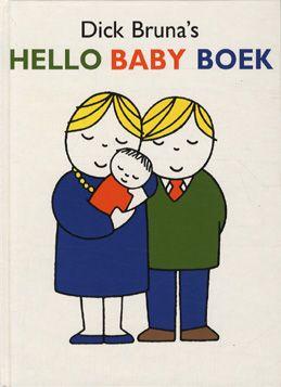 Als er een broertje of zusje op komst is. Dick Bruna 1993 Hello Baby Boek