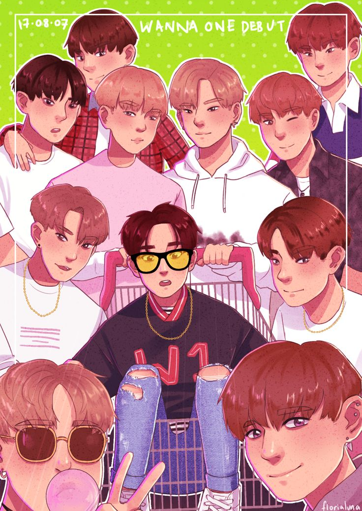 wanna one debut / energetic