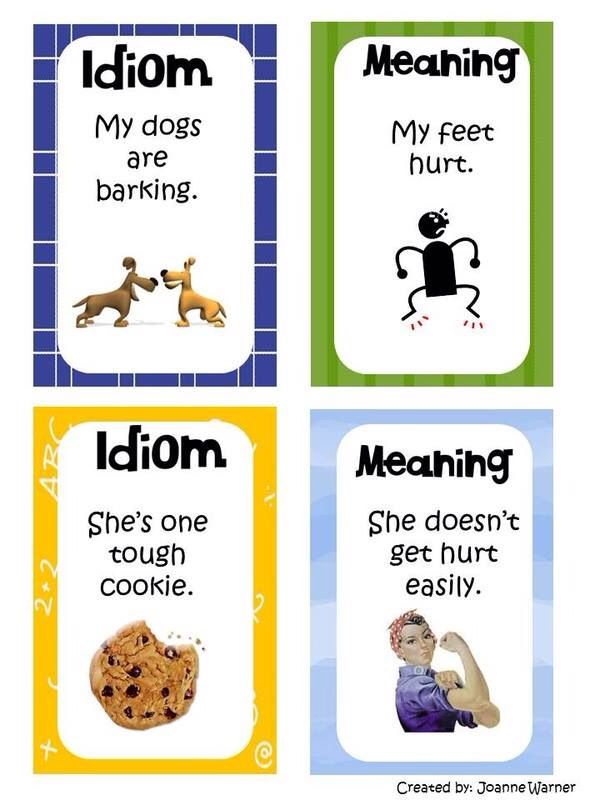 15 Best Teaching Idioms Images On Pinterest English Language