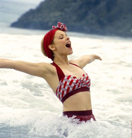 I think Rachel McAdams is the only person that could really pull this off! #swimwear #swimspot