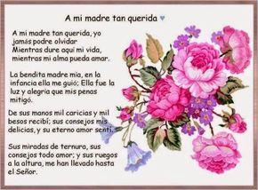 Bellos poemas para para festejar el dia de la madre