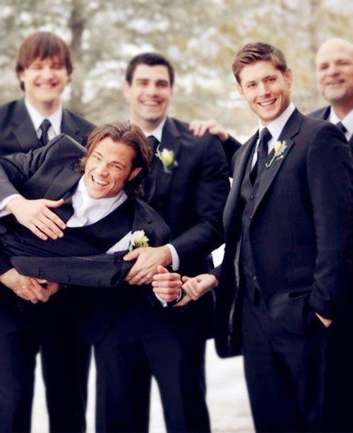 Wow, thanks Jensen, for ALL that help :D #PadaleckiWedding