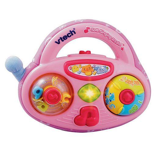 Vtech Soft Singing Radio - Pink Stimulate your childrsquo