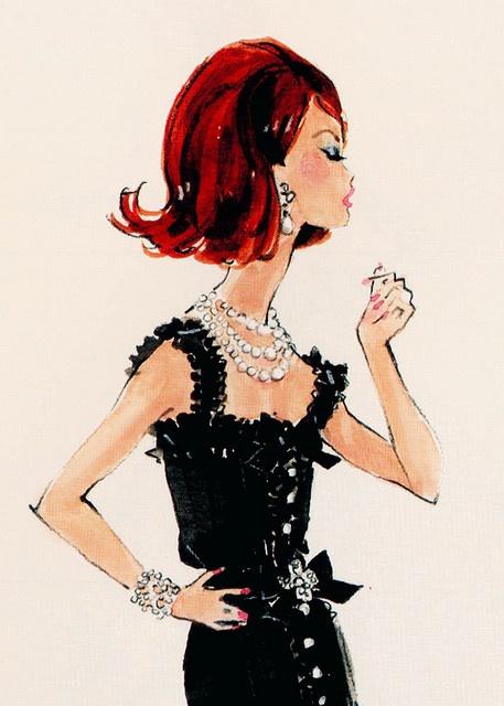 Barbie Illustration by Robert Best.