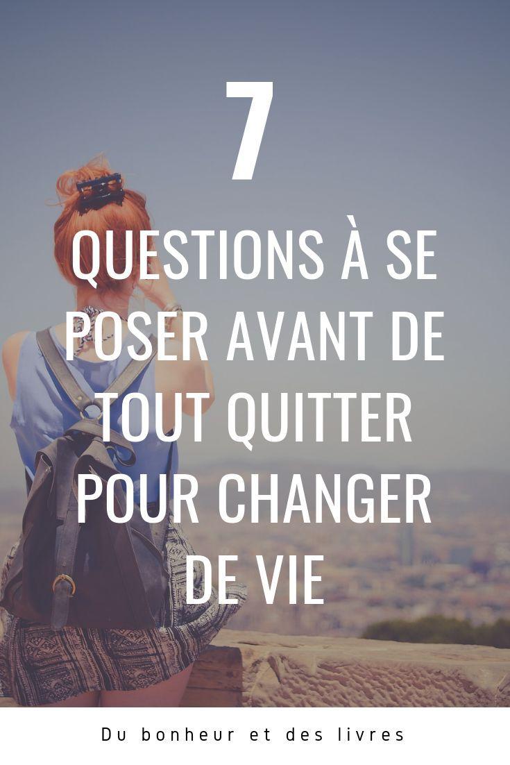Tout Quitter Pour Changer De Vie : quitter, changer, Épinglé, Bien-être, Stoïcisme