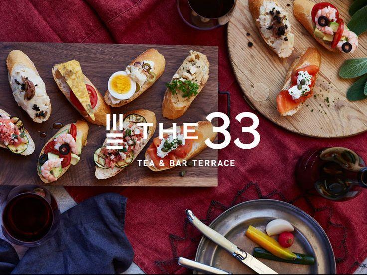 梅田カフェ&バー | THE33 TEA&BAR TERRACE