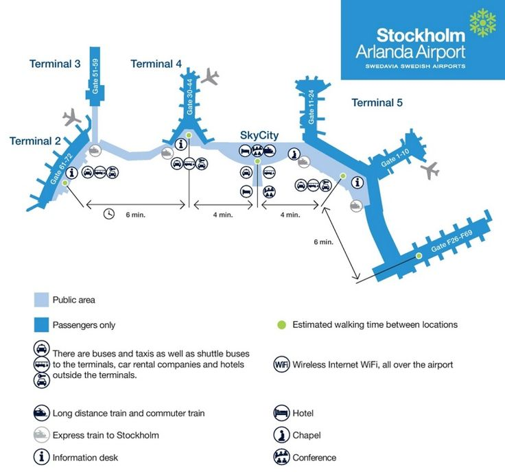 Stockholm arlanda airport map maps pinterest for Hotels near arlanda airport