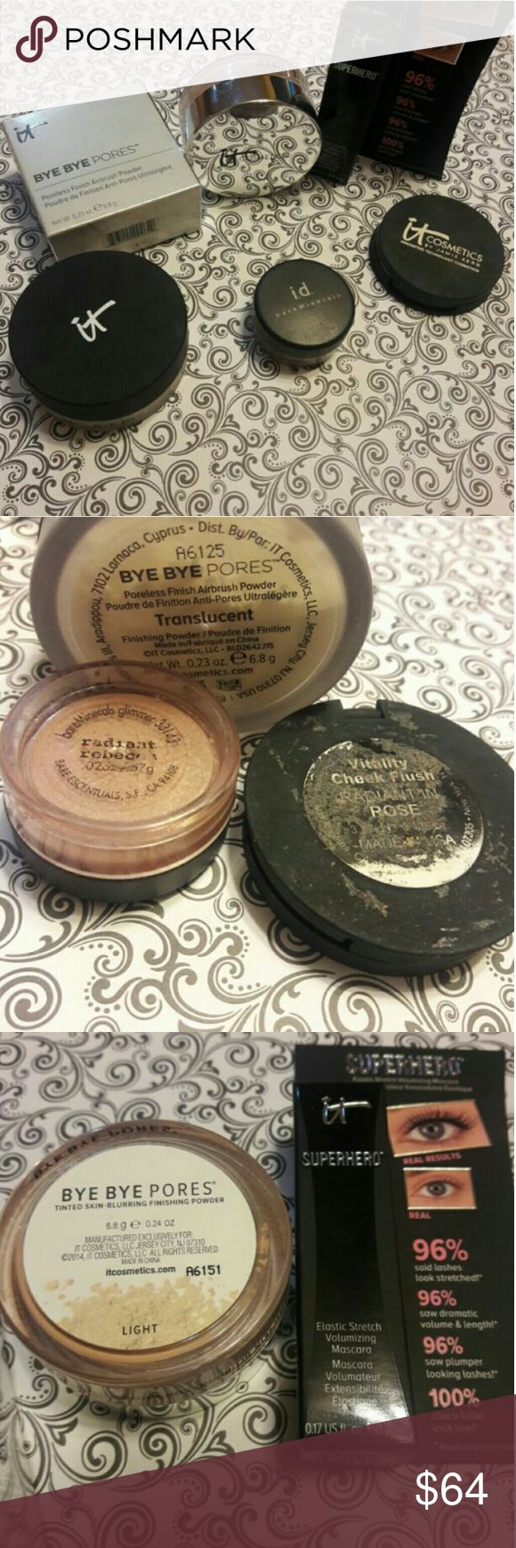 IT Cosmetics products Bye Bye Pores finishing powder