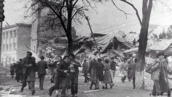 Dzień Pamięci - 07.12.1988r. Godz. 11.41- Giumri - trzęsienie ziemi. Hayastan Nkarner