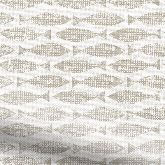 Samaki Neutral Roman Blind from Blinds 2go