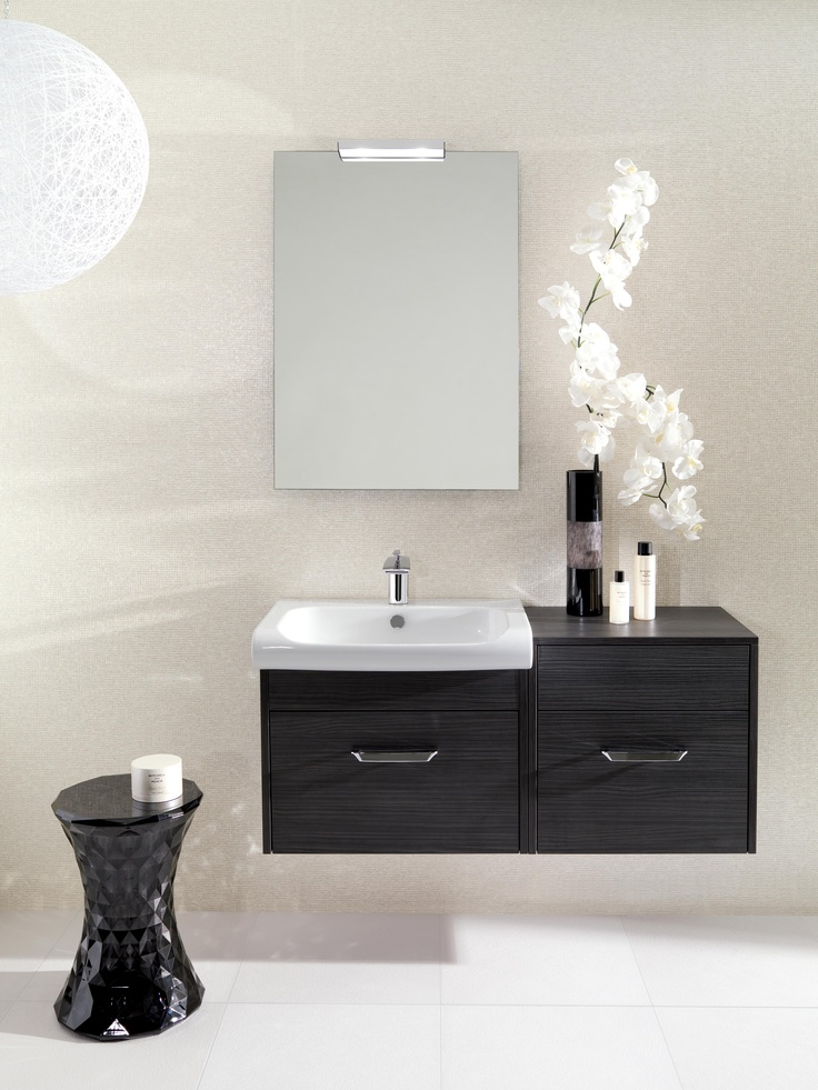 Essence Anthracite Bathroom Furniture Range From Crosswater