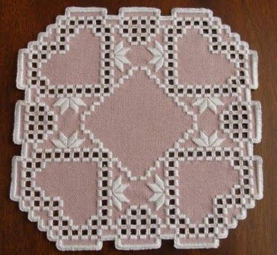 heart hardanger- did this one!