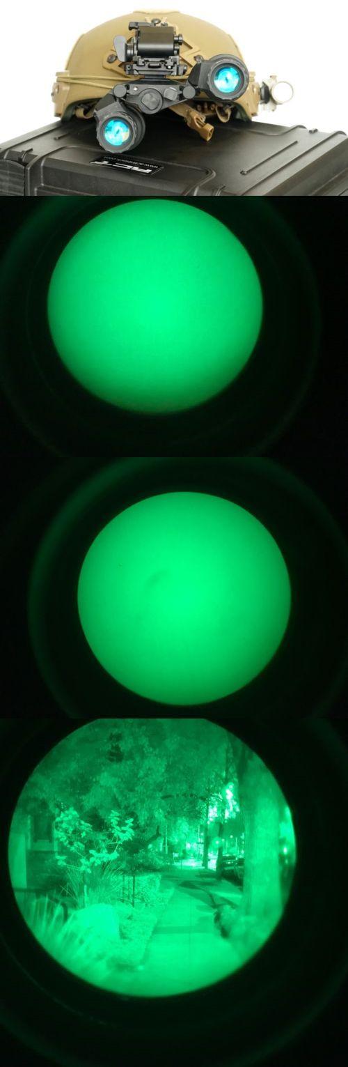 Night Vision Optics 40970: Act In Black Dtnvg-Avs Bino Night Vision Goggles W Gen3+ Green Phosphor Bnvd -> BUY IT NOW ONLY: $7950 on eBay!