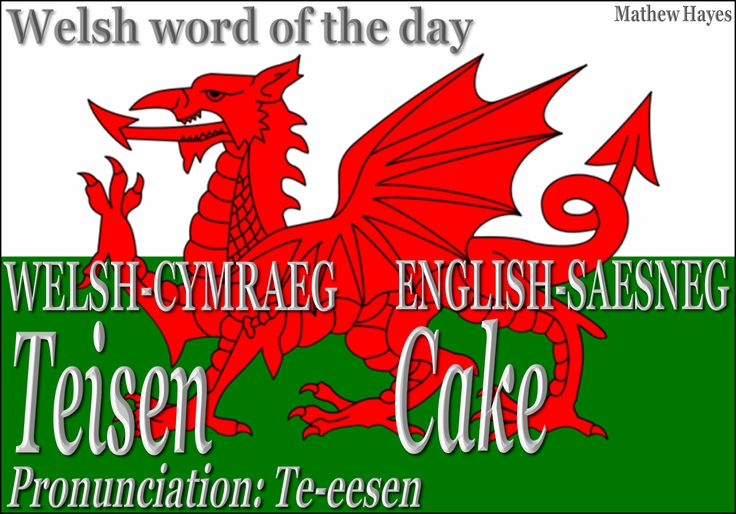 Welsh word of the day: Teisen/Cake