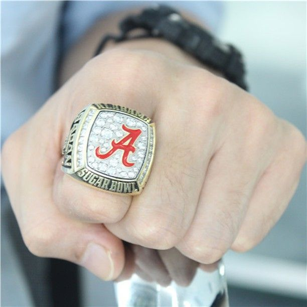 Custom 2008 Alabama Crimson Tide Sugar Bowl Ring Click Link in My Profile to Order #rolltide #alabama #sec #lsu #fsu #cfb #vfl #ugafootball #gbo #cfpbound #govols #vols