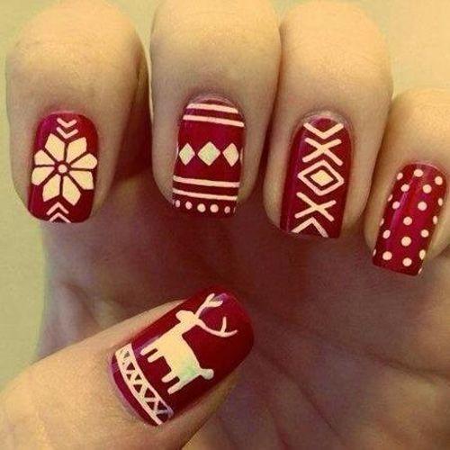 138 best daotaonail images on pinterest christmas nails nail gam mu vi im nhn l hnh tun lc http prinsesfo Gallery