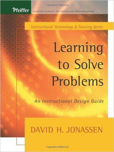 CONOSCERE I PROBLEMI Come precedentemente detto quiDavid Jonassen (2000) ha identificato undici (*) tipi di problemiAlgoritmi, problemi di tipo scolastico (story problem, problemi posti in forma di narrazione), problemi regolativi, presa di decisione (decision making), diagnosi e soluzione dei problemi, ripristino di malfunzionamenti (troubleshooting), comportamento strategico (Policy-analysis problems), problemi di progettazione, e dilemmi. I…