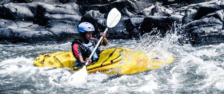 Cilaki 2015, Kayaking the river Cilaki