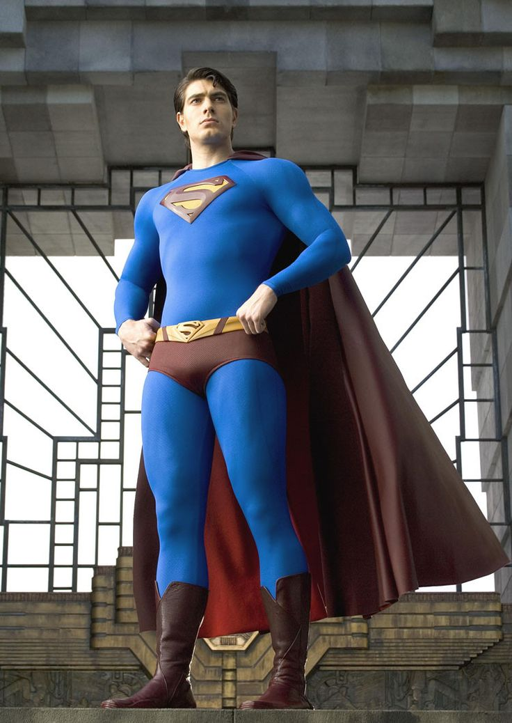 Superman Returns Pose Gallery Print