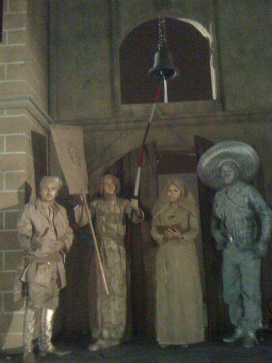 estatuas vivientes de septiembre