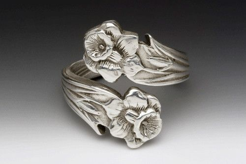 Lilly Spoon Ring | Silver Spoon Jewelry