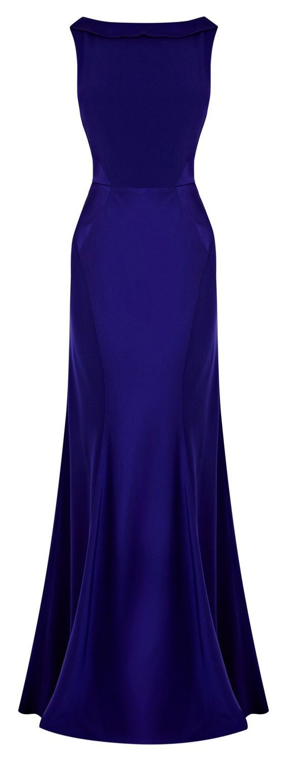 Different neck line would make this PERFECT! -Coast Adelise Maxi Dress with Fishtail Hem