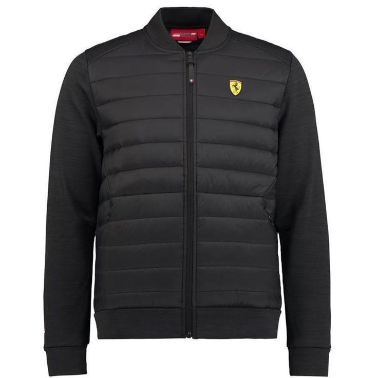 Scuderia Ferrari Formula 1 Men's 2018 Black Bomber Jacket | Black bomber jacket, Bomber jacket ...