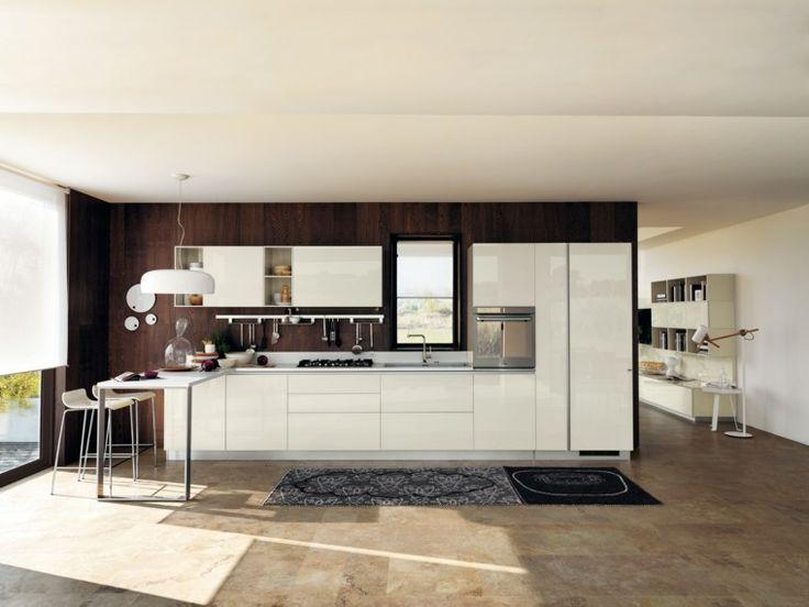 alfombras en la cocina moderna