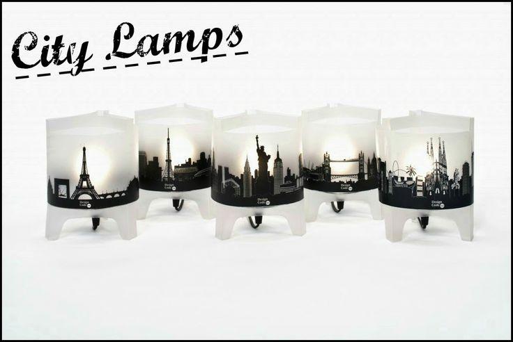 Ars City: L'oggetto del desiderio della settimana:City lamps