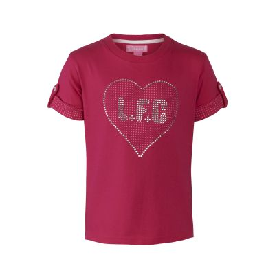 LFC Junior Polka Dot Heart Tee | Liverpool FC Official Store