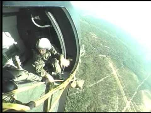 army airborne paratroopers training  Video