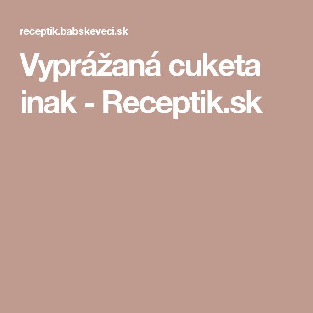 Vyprážaná cuketa inak - Receptik.sk