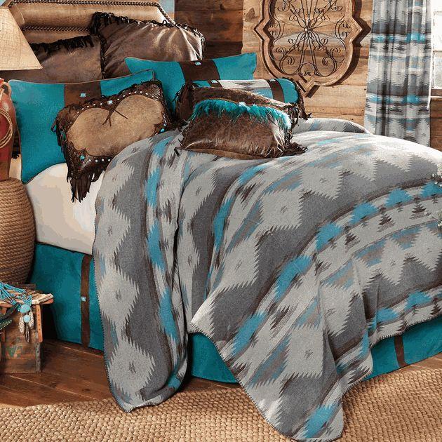 Arroyo Southwestern Bed Set - King