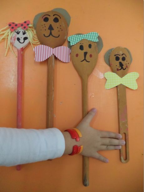 wooden spoon princess craft 1000 images about cucharas madera on 5784