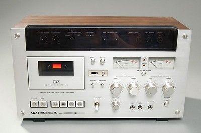 WORKING-Stereo-Cassette-Deck-AKAI-GXC-570D-Glass-XTAL-Ferrite-Head-Cassette