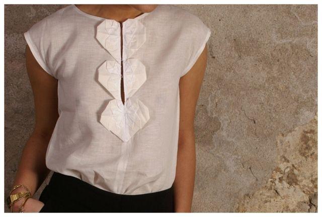"""""""Оригами"""" на одежде (подборка) / Декор /"""
