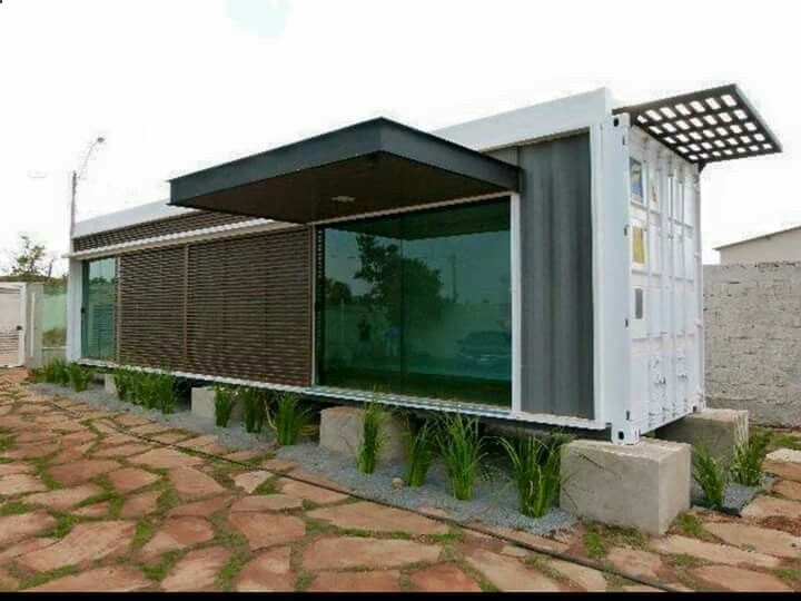 Container House - Container House - Container conversion - Who Else Wants Simple Step-By-Step Plans To Design And Build A Container Home From Scratch? Who Else Wants Simple Step-By-Step Plans To Design And Build A Container Home From Scratch? #ModernShedPlans