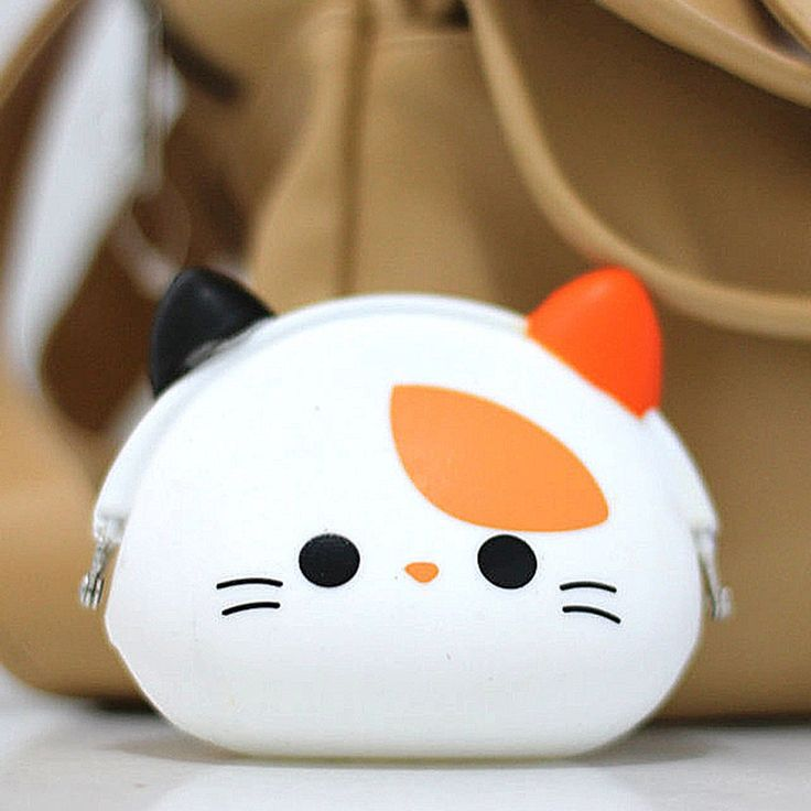 Coin Pouch Kucing Putih Rp 50.000