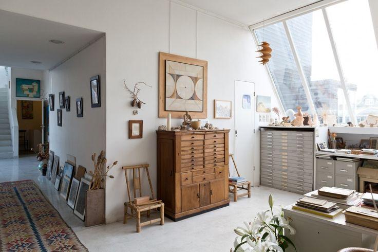 Gisèle d'Ailly van Waterschoot van der Gracht — Publisher & Artist, studio in Amsterdam